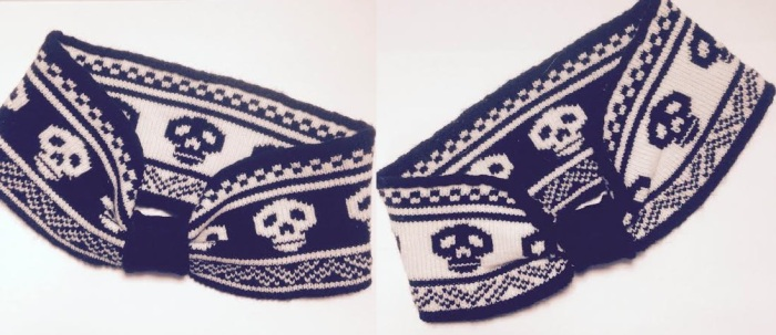 reversible ear headband